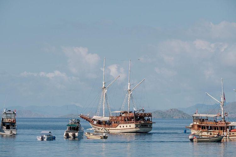 Ilustrasi pariwisata Indonesia