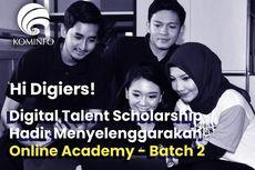 Kominfo Buka Beasiswa Online Academy 2020 Gelombang Dua, Ini Infonya