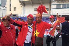 Final SEA Games 2019 Indonesia Vs Vietnam, Keakraban Suporter Jelang Laga