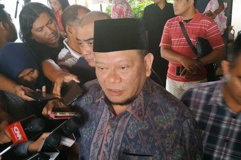 La Nyalla Sebut Peristiwa Ditusuknya Wiranto sebagai Bahan Evaluasi Pengamanan Pejabat