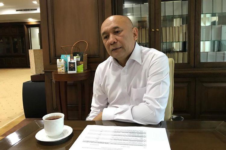 Menteri Koperasi dan UMKM Teten Masduki, dalam wawancara khusus dengan Kompas.com, di Kementerian Koperasi dan UMKM, Kamis (23/1/2020).