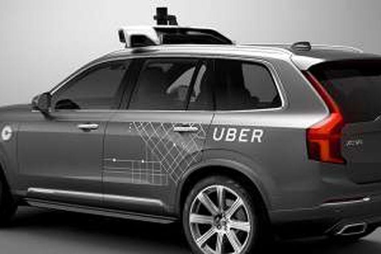 Mobil tanpa sopir XC90 besutan Volvo dan Uber