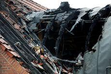 Pesawat Jatuh Tabrak Rumah di Jerman, Meledak dan Keluar Bola Api