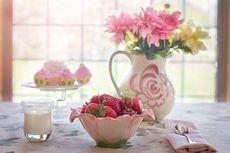 Vas Bunga Segar Harus Dijauhkan dari Buah-buahan, Mengapa?