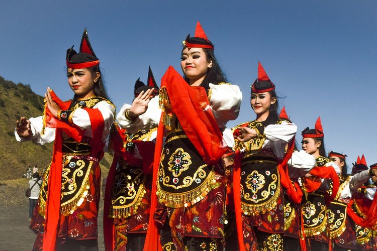Tari Remo khas Jawa Timur DOK. Shutterstock/syamhari photography