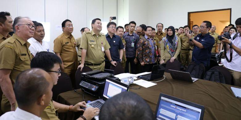 Wakil Gubernur Sulawesi Utara Steven Kandouw saat menghadiri kegiatan Pra Musrenbang RKPD Provinsi Sulawesi Utara Tahun 2020 di Manado, Selasa (26/3/2019) siang.
