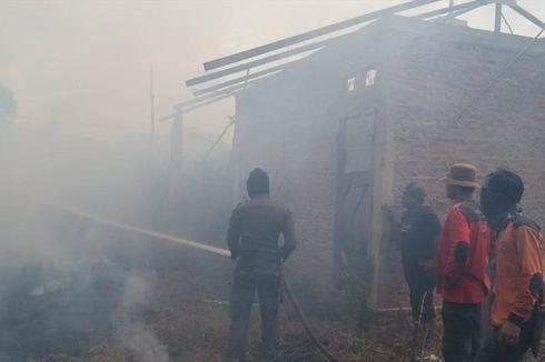Kebakaran Hutan di Riau Nyaris Merembet ke Rumah Warga