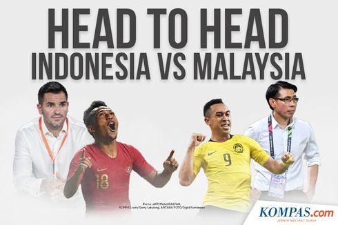 INFOGRAFIK: Head to Head Indonesia Vs Malaysia