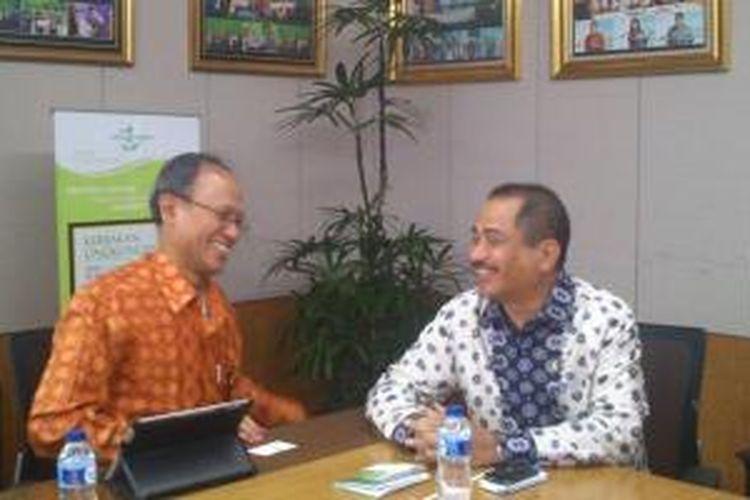 Menteri Pariwisata Arief Yahya mengunjungi PT Propan Raya, Tangerang, Banten, Selasa (11/11/2014).