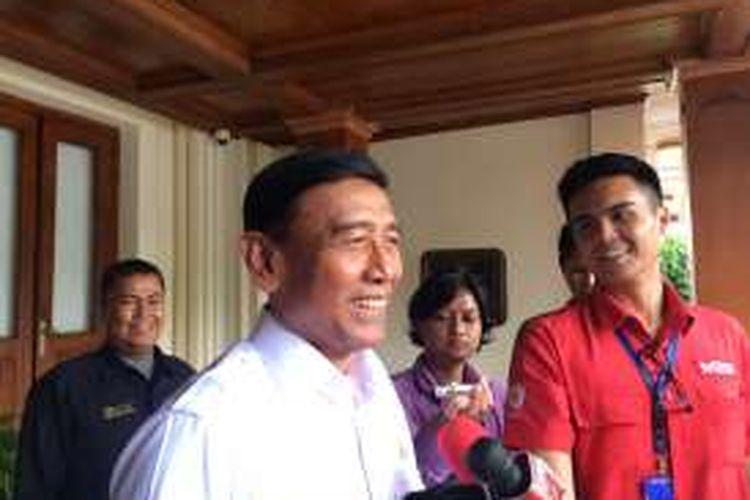 Menteri Koordinator Bidang Politik, Hukum, dan Keamanan, Wiranto di Kemenkopolhukam, Jakarta, Selasa (29/11/2016).