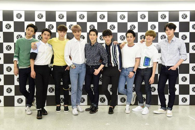 Boyband K-pop asal Korea Selatan, EXO