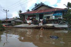 Banjir di Sintang, Puluhan Rumah Rusak dan Jembatan Gantung Putus