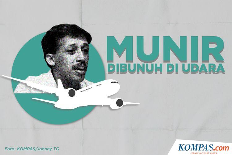 Munir Dibunuh Di Udara