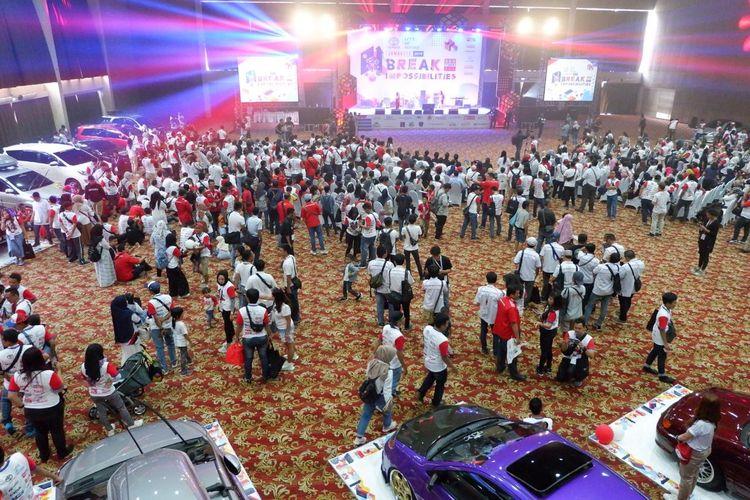 Toyota Jamboree 2019 dihadiri sekitar 1.500 peserta dari 18 anggota Toyota Owners Club