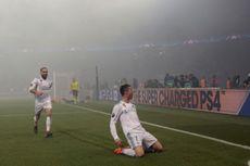 Ronaldo Nyaris Kena Lempar Botol Plastik Saat Selebrasi