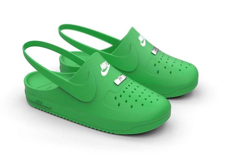 Crocs x Nike Air Force 1