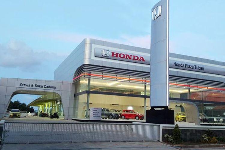 Honda Plaza Tuban diresmikan PT Honda Prospect Motor.