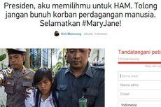 Petisi Online Desak Jokowi Selamatkan Mary Jane dari Eksekusi Mati