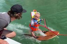 Bayi 6 Bulan Jadi Pemain Ski Air Termuda di Dunia