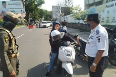 Di Padang, Mobil, Motor, Ojek yang Langgar PSBB Didenda hingga Rp 1 Juta