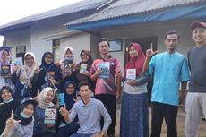Saat KKN, Mahasiswa di Lampung Barat Bangun 15 Rumah Baca