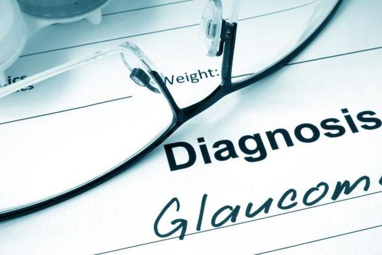 Ilustrasi glaukoma