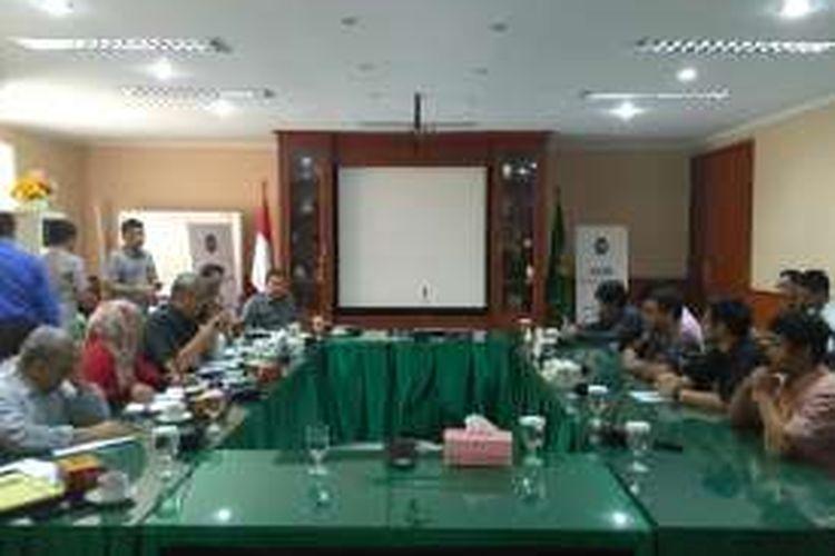 Koalisi Masyarakat Sipil untuk Hapus Hukuman Mati (HATI) melaporkan Jaksa Agung H.M Prasetyo ke Komisi Kejaksaan RI