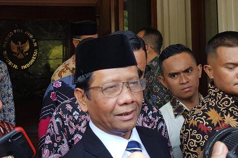 Mahfud MD: Hukum yang Berlaku di Arab, Afghanistan, dan Yordania Tak Harus Berlaku di Indonesia