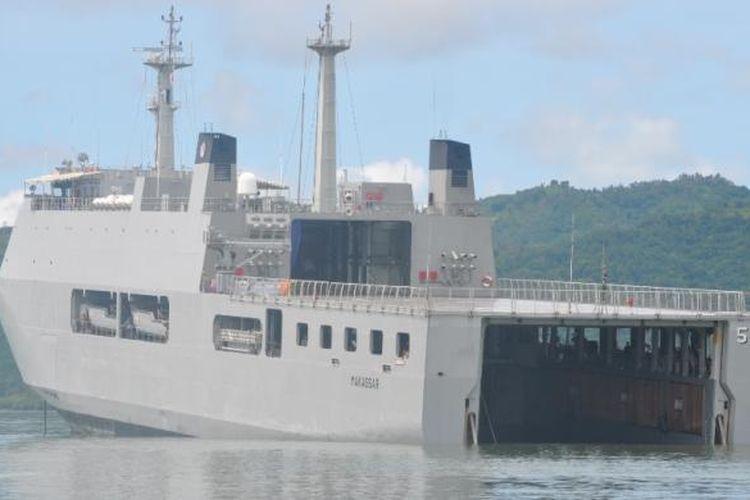 Ilustrasi kapal.