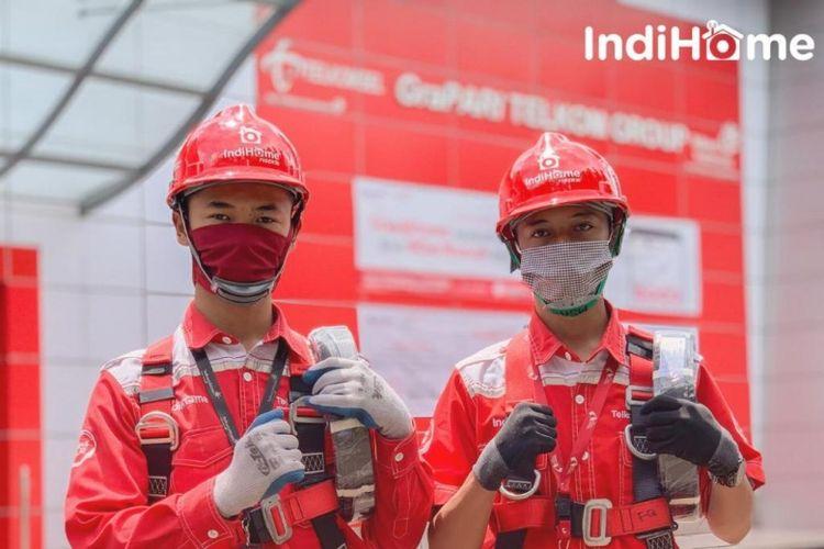Hingga akhir 2020, IndiHome berhasil membentangkan jaringan fiber optic sepanjang 166.343 kilometer di seluruh wilayah Nusantara, mulai dari pusat kota hingga pelosok desa