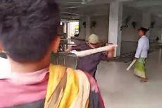 Habis Nyabu, Pria Ini Mengamuk di Masjid dan Tikam Seorang Anak