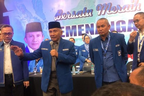 Dukung Zulkifli Hasan, DPW PAN: Jangan Dianggap Kami Berbenturan dengan Amien Rais