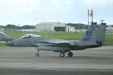 Jet Tempur F-15 AS Jatuh di Okinawa, Pilot Berhasil Selamat