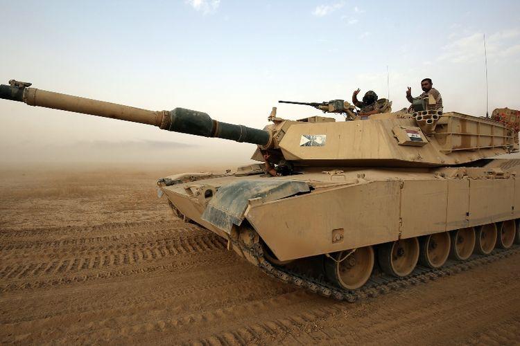 Tank Abrams buatan AS.