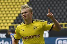 Top Skor Bundesliga - Erling Haaland Dekati Robert Lewandowski