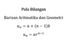 Apa Perbedaan Barisan Aritmetika dan Geometri?