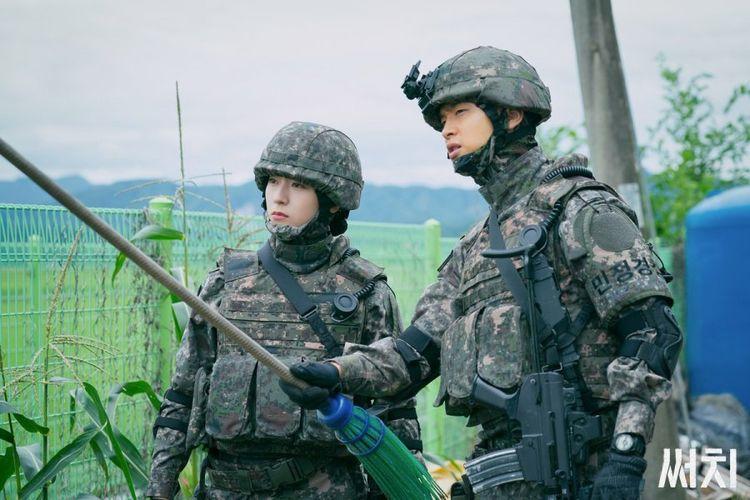 Krystal dalam Drama Korea Search (2020)