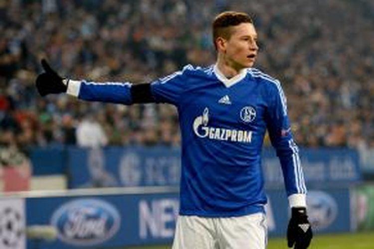 Gelandang Schalke, Julian Draxler.