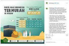 Kemenag Klaim Tarif Haji Indonesia Termurah di ASEAN
