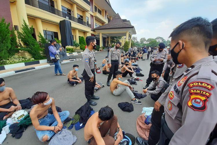 Pelajar diamankan jajaran Polda Banten