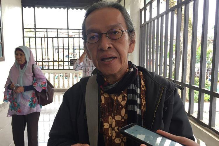 Ketua Yayasan Tandi Pulau Erwan Suryanegara memberikan penjelasan soal ucapan Budayawan Betawi Ridwan Saidi yang menyebutkan Kerajaan Sriwijaya fiktif.