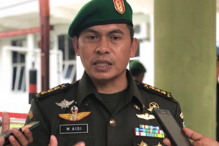 Kapendam 17 Cenderawasih, Kolonel Inf Muhammad Aidi.