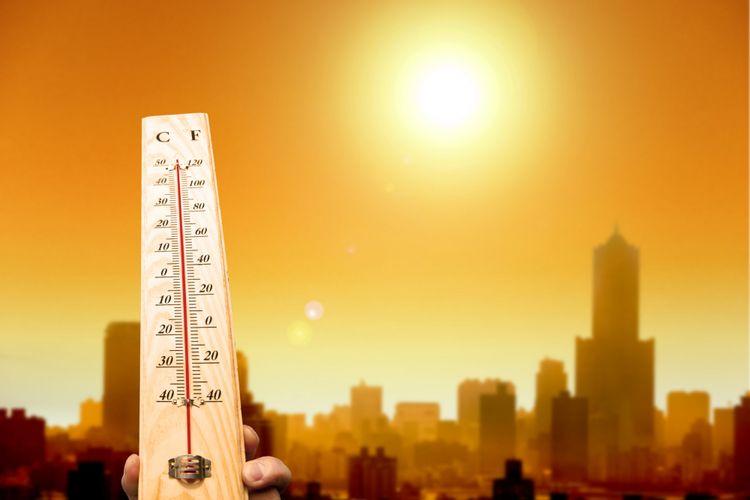 Ilustrasi pemanasan global
