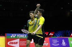 Hong Kong Open 2019, Fajar/Rian Amankan Tiket Babak Kedua