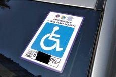 Stiker Khusus Disabilitas untuk Ganjil Genap Jangan Sampai Disalahgunakan