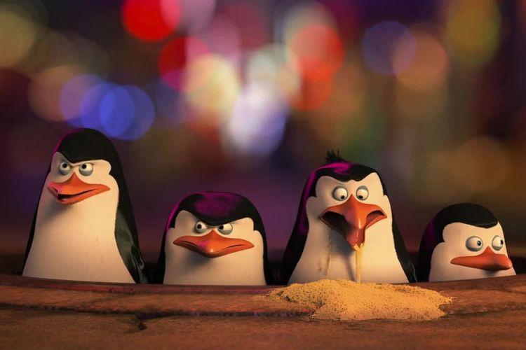 Sinopsis Penguins Of Madagascar Aksi Kocak Empat Penguin Jalankan Misi Rahasia