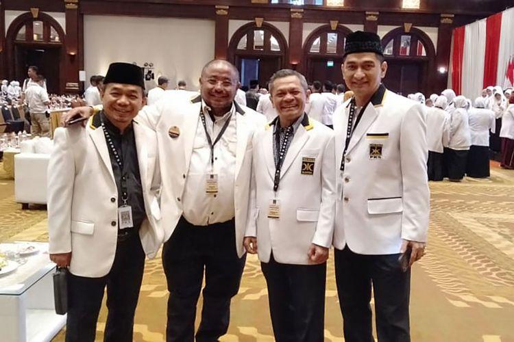 Anggota DPR RI Fraksi PKS Achmad Dimyati Natakusumah (paling kanan)