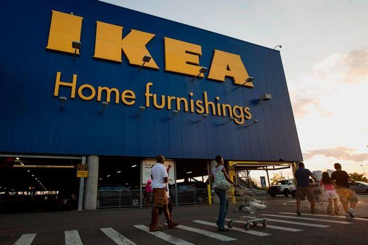 Salah satu toko IKEA di Inggris.