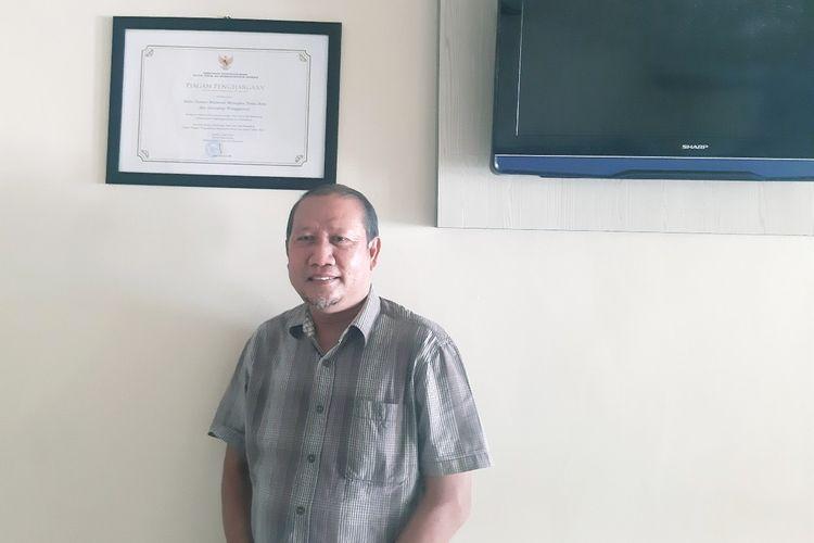 Kepala Balai Taman Nasional Manupeu Tanah Daru dan Laiwangi Wanggameti (TN Matalawa), Pulau Sumba, Nusa Tenggara Timur (NTT), Memen Suparman.