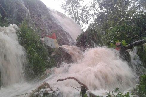 Sungai Meluap di Sukabumi, Belasan Rumah Terendam Banjir